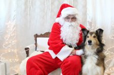 Pet Photos With Santa Claus