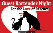 FOR THE LOVE OF RESCUES-4th Annual Guest Bartending
